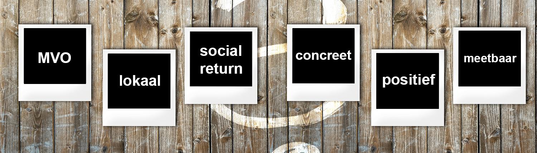 Waar denk je aan bij de invulling van mvo en social return?