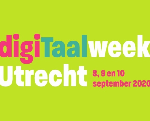 digiTaalweek Utrecht op 8, 9 en 10 september 2020